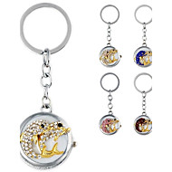 Women's Fashionable Dolphin-Shaped Metal Pendant With Artificial Diamond Bag Keychain Watch (1Pc) Cool Watches Unique Watches