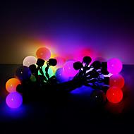 5m 20 LED Weihnachten Halloween dekorative Lichter festlich-Streifenlichter RGB übergroßen Ball Lichter (220V)