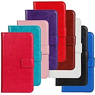 Horse Grain PU Leather Full Body Case with Stand and Card Slot for Motorola Moto G