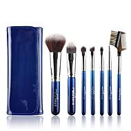 msq®7pcsブルーベリー夜のメイクブラシセット+青色の袋