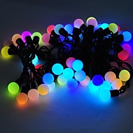 marsing® christmas decoratieve 5m 8W 50-LED-flitser modi festival bal partij multi-color licht strip - (AC110-220V)