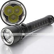 LED Flashlights/Torch / Handheld Flashlights/Torch LED 5 Mode 4000 Lumens Waterproof Cree XM-L T6 18650Camping/Hiking/Caving / Everyday