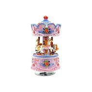 carillon 8 suono sposare-go-round con led (colore casuale) colorato