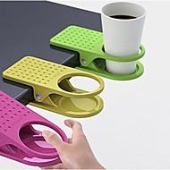 Creative Table Glass Clip Cup Holder Big Clip Kitchen Table Tableware (Random Color)3-pcs