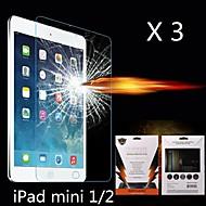 protector final choque de absorção de tela para Mini iPad 3 Mini iPad 2 iPad Mini (3 peças)