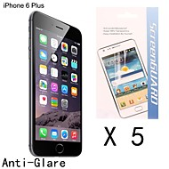 High Quality Anti-fingerprint Screen Protector for iPhone 6S/6 Plus (5 pcs)
