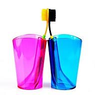 multifunctionele snoep kleur tandenborstel beker en tandenborstel rack (willekeurige kleur)