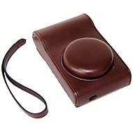 dengpin® beskyttende lær kameraveske bag cover med håndstropp til Samsung Galaxy Camera 2 EK-gc200 gc120 gc110 gc100