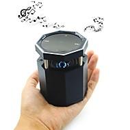 Vcall HY-16 alto-falante da tela de toque do carro de Bluetooth sem fio portátil com luz LED roxo visível