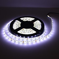 Waterproof 5M 300x5050 SMD White LED Strip Lamp with Cable Dimmer Set (12V)