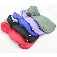 clásico de esquí en invierno abrigo impermeable hoddie para perros (colores variados, de diferentes tamaños)