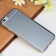 Solid Color TPU Soft Cover  for iPhone 6/6S (Assorted Colors)