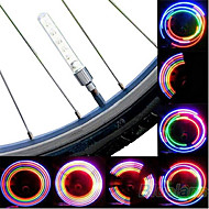 Bike Lights / Wheel Lights / Valve Cap Flashing Lights LED Cycling Cell Batteries Lumens Battery Cycling/Bike-Lights