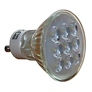 3W GU10 LED Spotlight 9 SMD 2835 3000 lm Warm White / Cool White AC 220-240 V