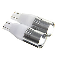 T15 5W R3 450LM 6000K White Light LED for Car Reversing Light(DC12 2pcs)
