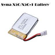 Syma X5C/X5C-1 Explorers Parts X5C-11 3.7V 500mAh Update 3.7V 680mAh Lipo Battery