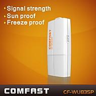 comfast® cf-wu835p 2.4GHz 802.11b / g / n 300Mbps USB 2.0 wireless wi-fi adattatore di rete - bianco