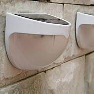 mlsled® 1,2 w 6-LED Bílý mini nepromokavé Solární plotu / zdi / zahradní lampa - bílá