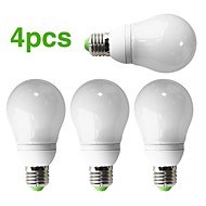 4-Pack H+LUX™ CFL A65 E27 22W 1100lm CRI>80 2700K Warm White Bulb (AC220-240V)