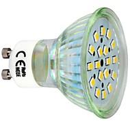3W GU10 LED-kohdevalaisimet 18 SMD 2835 260 lm Lämmin valkoinen AC 220-240 V