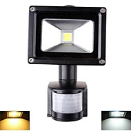 10 W 1 High Power LED 1000 LM Warm White/Cool White Sensor Flood Lights AC 85-265 V