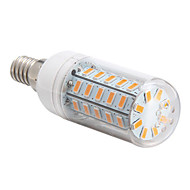 E14 10 W 48 SMD 5730 1000 LM Warm White T Corn Bulbs AC 220-240 V