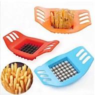 chipper πατάτα δημιουργική πατάτα κομμένα bar μηχάνημα κοπής πατάτες / τηγανιτές πατάτες χρώμα εργαλείο μπλε