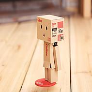 8cm lysende danboard Danbo dukke papir modell tegnefilm leketøy