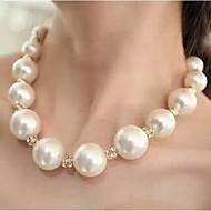 Γυναικεία Κολιέ Τσόκερ Coliere cu Perle Μπάλα Μαργαριτάρι Στρας Κράμα κοστούμι κοστουμιών Κοσμήματα με στυλ κοσμήματα πολυτελείας