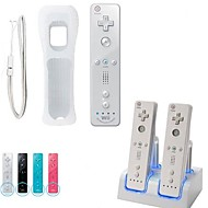 Wiimote Built in Motion Plus Inside Remote Nunchuck Controller for Nintendo Wii Console Game