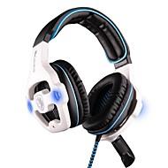 sades sa-903 słuchawki usb na ucho wielofunkcyjnego stereo z mikrofonem do komputera