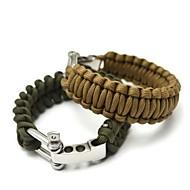 Outdoor Emergency Survival Bracelet(Random Color)