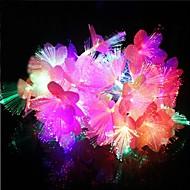 20-ledede 4m vanntett juledekorasjon fargerike blomster rgb lys ledet streng lys (220V)
