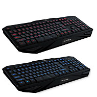 A9 Waterproof Professional Wired USB Keyboard Luminous Gaming