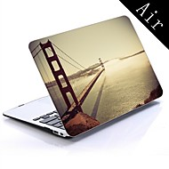 el diseño del puente de mar de todo el cuerpo caja de plástico protectora para el de 11 pulgadas / 13 pulgadas de aire nuevo macbook