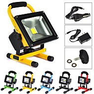 10W 1 High Power LED 1000 LM Warm White Rechargeable LED Flood Lights AC 100-240 V