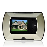 "Wireless Digital Door Peephole Viewer High Resolution Camera 2.2"" Monitor DIY"