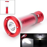 LED Flashlights/Torch / Lanterns & Tent Lights LED 6 Mode 200 LumensAdjustable Focus / Waterproof / Impact Resistant / Nonslip grip /