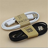 1M USB Sync and Charge Cable for Samsung Galaxy S3 S4 and Others Cellphones(Assorted Colors)