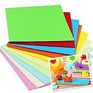 100 개 향수 papercranes 종이 접기 재료 7 *의 7cm (8color / 패키지 색상 랜덤)