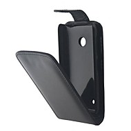 Open Up and Down PU Leather Full Body Case for Nokia Lumia 530
