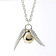 collar de oro snitch Harry Potter y las Reliquias de la Muerte collar snitch dorada (1 unidad)
