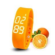 slims pulseira relógio de tempo de monitoramento de temperatura monitoramento sono pedômetro sensor de movimento lada Digital Smart