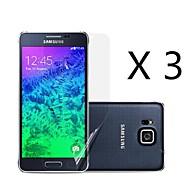 (3 pcs) definisi tinggi skrin pelindung untuk Samsung galaksi alfa g850