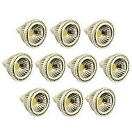 10 Stück Dimmbar Spot Lampen MR16 GU5.3 3 W 270-300 LM 2800-3000/6000-6500 K 1 COB Warmes Weiß/Kühles Weiß DC 12 V