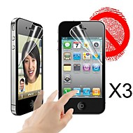 Matte Screen Protector for iPhone 4/4s  (3 PCS)