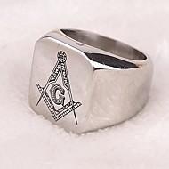 Ringer Fest Daglig Avslappet Julegaver Smykker Titanium Stål uttalelse Ringe7 8 9 10 11 12 Sølv
