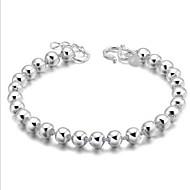 Γυναικεία Βραχιόλια Strand Μοναδικό Μοντέρνα Ασήμι Στερλίνας Κοσμήματα Ασημί Κοσμήματα Για Γάμου Πάρτι Καθημερινά Causal 1pc