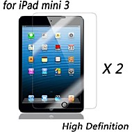[2-pack] prémio alta definição protetores de tela claras para mini-ipad 3