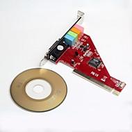 pci-ess4ch carte son PCI pour ordinateur de bureau commutateur PCIe 4.1 Suivre la dernière convertisseur audio de l'ordinateur de la technologie